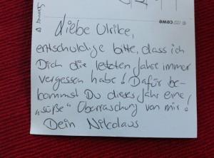 Offener Brief An Den Nikolaus Leselustich