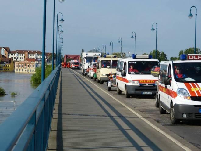 DLRG,. Flut, Hochwasser, Saarland, 2013