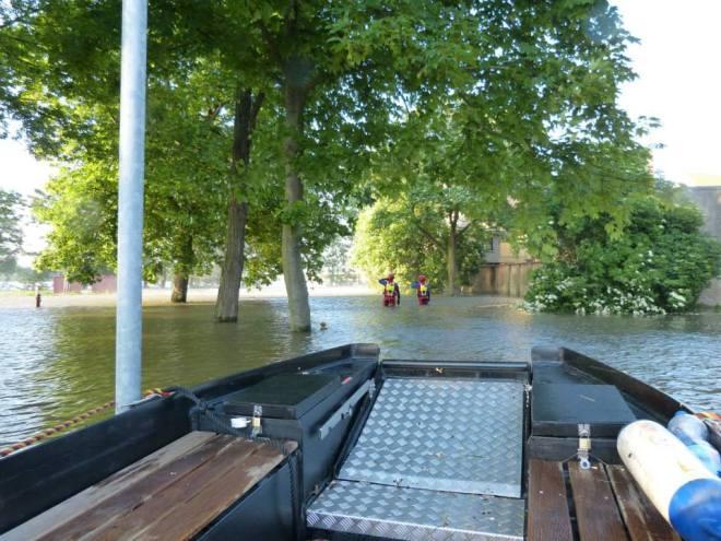 DLRG, Flut, Hochwasser, 2013