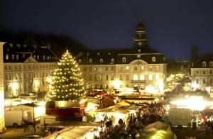 Weihnachten, Saarland, Saarbrücken, Markt, Nikolaus