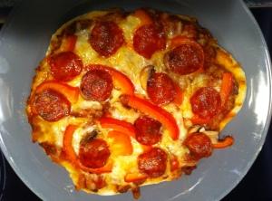 Pizza, Italiener, selbst, Teig, herstellen, backen, Italien