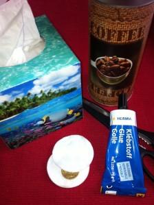 Kaffee, Pad, Maschine, Dose, Geschenk, verpacken