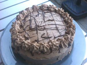 Torte, vegan, selbst, backen, Schlagfix, LeHa, Haselnuss, Schoko