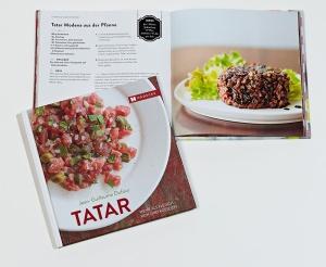 Tartar, Fleisch, Fisch, roh