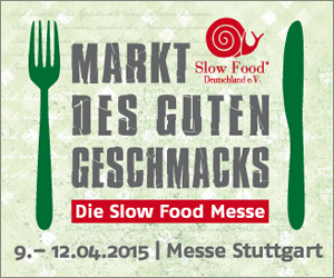 Slow Food, Messe, Stuttgart