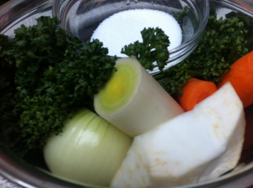 Gemetzel vom Wintergemüse II:Suppenwürze